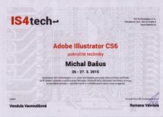 Certifikát Adobe Illustrator - pokročilé techniky