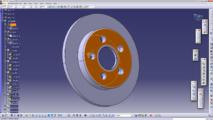 Ukázka práce v CAD systému Catia V5