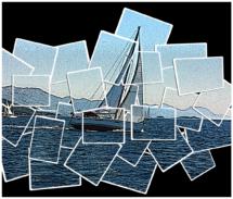 Úprava fotografie jachty