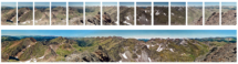 Panorama složené a upravené foto ze 14ks políček negativu