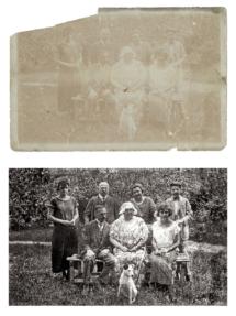 Oprava staré fotografie
