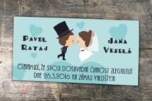 Návrh svatebního oznámení