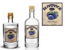 Etiketa Slivovice Rejšice